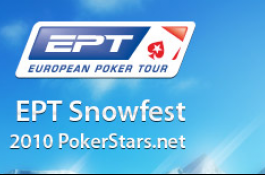EPT Snowfest - David Winterberger é o Chipleader