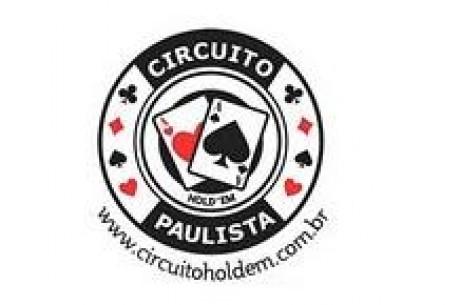 II Etapa do Circuito Paulista de Hold'em: Satélite na Sexta, Dia 1 no Sábado e FT no Domingo