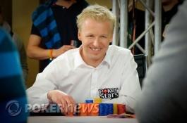 European Poker Tour Snowfest - Allan Baekke Líder à entrada da mesa final