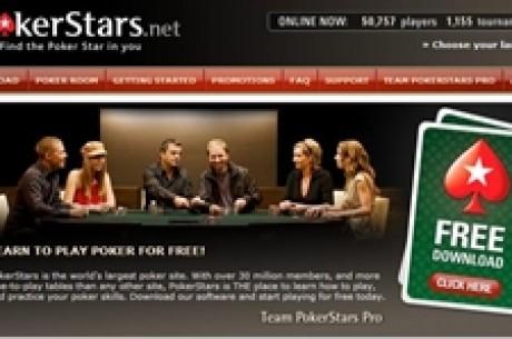 PokerStars.net pakub poolemiljonist sponsorlepingut