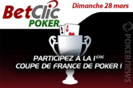 Coupe de France de Poker : 110 tickets gratuits ce dimanche 28 mars