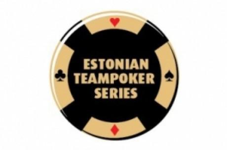 Estonian Teampoker Series kõrgliiga tiimid hakkavad selguma