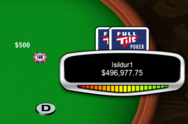 Isildur1 spiller med i Party Poker Big Game IV - Tony G. staker.