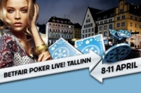 Betfair Poker Live! Таллин main event – определилась восьмерка...