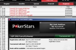 PokerStars pristato $500 vertės nemokamų turnyrų seriją su puikiais papildomais prizais...