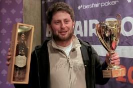 Betfair Poker Live! võitis poolakas, parim meie mängija kolmas