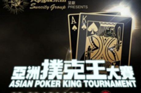 Asian Poker King Tournament Gets Bigger