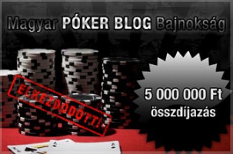Kezdetét vette az első Magyar Póker Blog Bajnokság