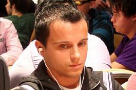 Roberto Machado no Dia 2 do EPT San Remo