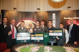 Campeonato de España de Poker, tercer torneo (Tarragona). Ganador: Miguel Chaparro