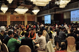 Asian Poker King Tournament Main Event Kicks off