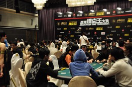 2nd Day of the Asian Poker King Main Event Ends with 43 Players Remaining