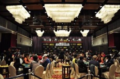 94人プレーヤーはアジアン ・ポーカー・キング・トーナメントのメイン...