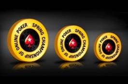 Vasárnap startol a PokerStars Spring Championship of Online Poker versenysorozata