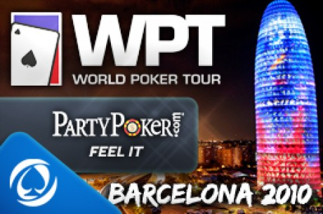 Domingo 9, a las 22:35 es el Freeroll Exclusivo para el WPT Barcelona en Party Poker