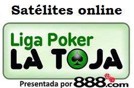 Jueves 10 de Junio, satélite online para la Liga 888.com Poker La Toja: !paquete añadido de...