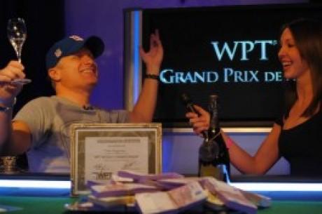 Theo Jorgensen lisas oma auhinnakappi WPT tiitli