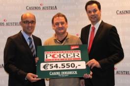 Pokerturnier News: Wilhelm Führer gewinnt Main Event der CAPT Innsbruck und Christoph Kreindl...