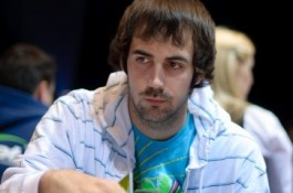 Jason Mercier Chip Leading in the $1,500 PLO