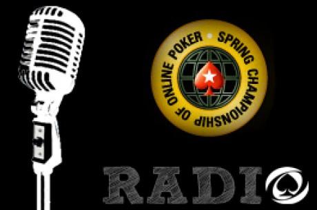 PokerNews Radio - luister de extra lange SCOOP uitzending terug van 16 mei