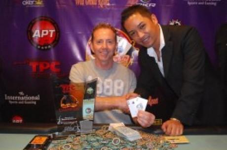 フレディー   ジャーノー氏はポーカーサーキットのワールド'Nウエットを勝ち取ります。