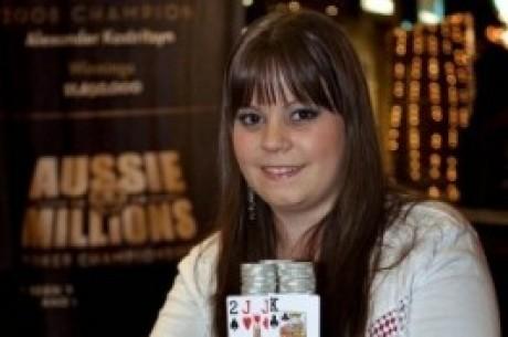 """Η πρωτάρα του WSOP: Annette """"Annette_15"""" Obrestad"""