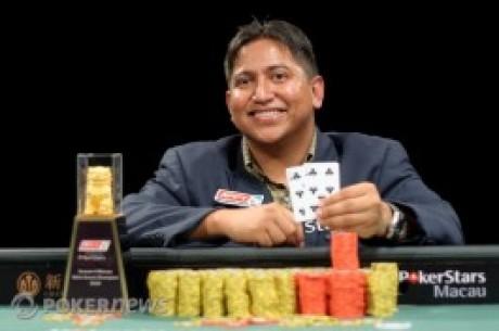 Victorino Torres vann Pokerstars APPT i Macau