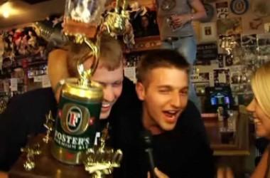 Tony Dunst Dominates Day of Trash Talking, Drinking at Doyle Brunson Beer Pong Invitational