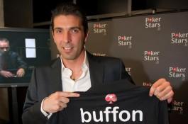 Uus PokerStars'i liige - tippväravavaht Gianluigi Buffon!