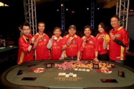 中国队在WTP首届赛事夺胜荣获世界瞩目
