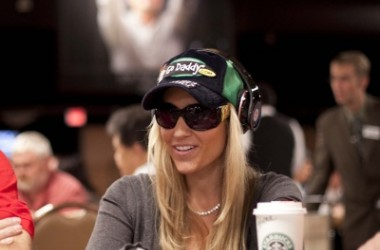 Playing WSOP Event No. 3 the $1,000 NLH with Vanessa Rousso