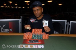 Praz Bansi vence o Evento #5 - $1.500 No-Limit Hold'em ($515.501)