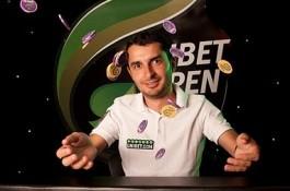 Unibet Open laimi Unibet Ambasadorius iš Rumunijos Dan Murariu, paskutiniame Side turnyre...
