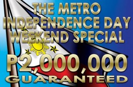 Php 2M Guaranteed Independence Day Special Kicks Off Today