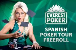 $2,100 Everest Spanish Poker Tour Freerolls