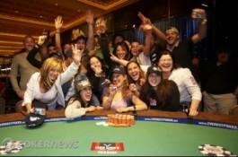 WSOP 2010 Den 17: Hellebuycková se stala první Francouzskou co vyhrála náramek a další