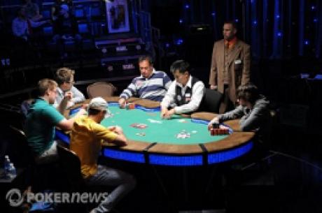 Día 20, 2010 World Series of Poker: Tebbe, Haydon y Warga se unen a la lista de brazaletes, y...