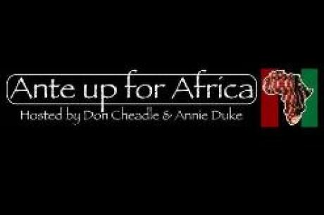 Ante Up for Africa: Contribua Você Também