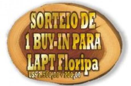 XI Floripa Open de Poker Sorteará Uma Vaga para o LAPT de Florianópolis