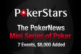PokerNews Mini Series of Poker -MiniSOP- ny turnering 3.juli