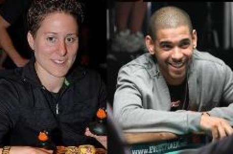 David Williams e Vanessa Selbst Assinam com o PokerStars