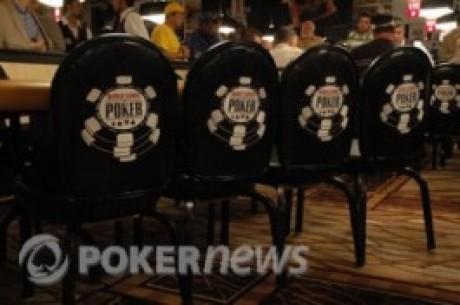WSOP - oppdatering fra søndag 4.juli