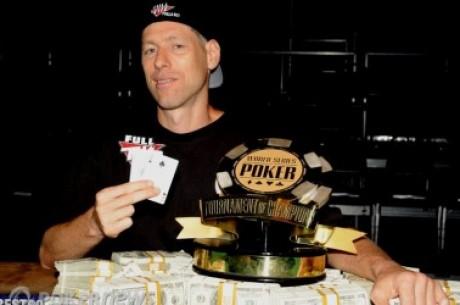 2010 World Series of Poker, Día 38: Huck Seed gana el Torneo de Campeones & Se definen los...