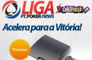Liga PT.PoKerNews: Última Jornada Realiza-se Hoje na CHiliPoker