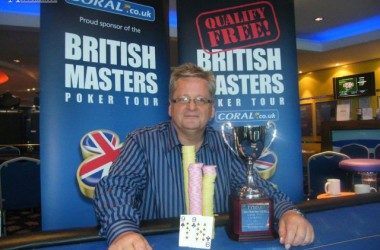 UK Pokernews Roundup: Mark McCluskey Wins Coral British Masters Liverpool, Fox Club Sponsored...