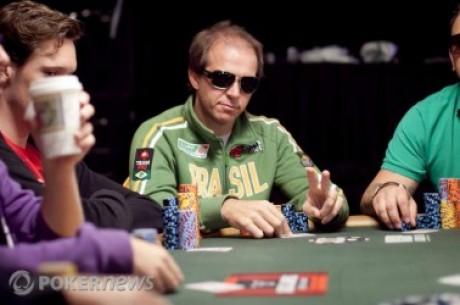 2010 World Series of Poker: Una ficha y una silla llevan a Gualter Salles de 1,000 a 425,000