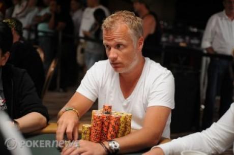 2010 World Series of Poker, Día 46: Evan Lamprea lidera & Theo Jorgensen bien cerca