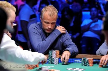WSOP Main Event Dag 6 - Theo Jørgensen chipleader