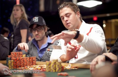 27 spelare kvar i WSOP Main Event – William Thorson en av dem