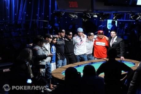 Kihlveokontorid avasid panustamise WSOP finalistide peale